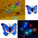 LED sienos drugeliai