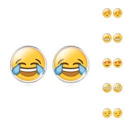 Emoji auskarai