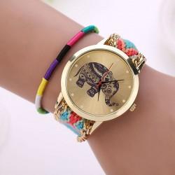 Spalvingas laikrodis