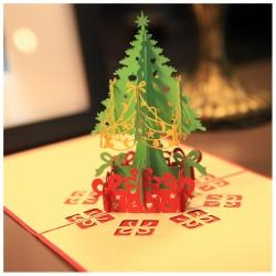 3D Kalėdinis atvirukas