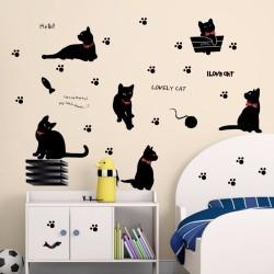 Sienos lipduks Cats