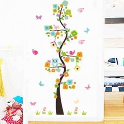 Sienos lipdukas Flower Tree
