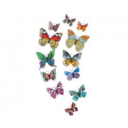 Švytintys drugeliai