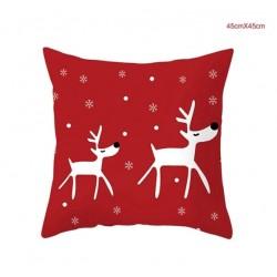 Kalėdinis pagalvės užvalkalas