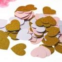 Širdelių konfeti