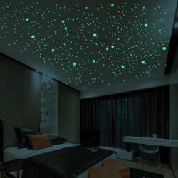 3D švytinčios žvaigždės
