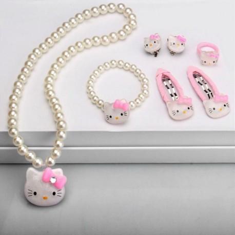 Papuošalų rinkinys Hello Kitty