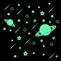 Švytintis Saturnas