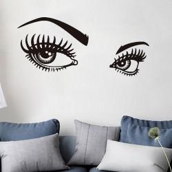 Sienos lipdukas Akys 2