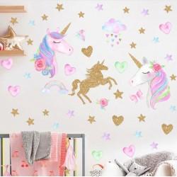 Sienos lipdukas Unicorn3