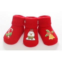 Kalėdinių kojinių rinkinys