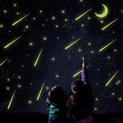 Švytintis žvaigždžių lietus
