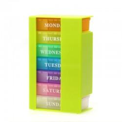 Vaistų dėžutė su stalčiukais