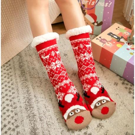 Minkštos kalėdinės kojinės