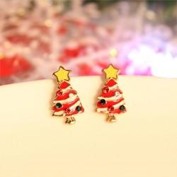 Kalėdiniai auskarai Christmas Tree